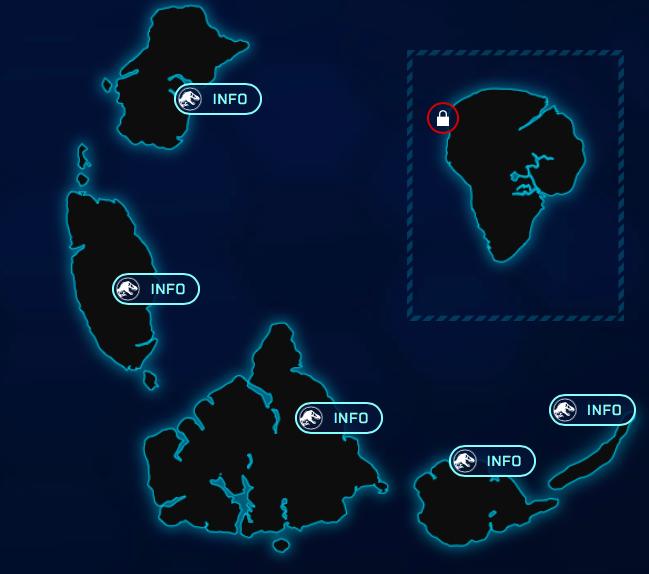Jurassic World: Evolution Islands