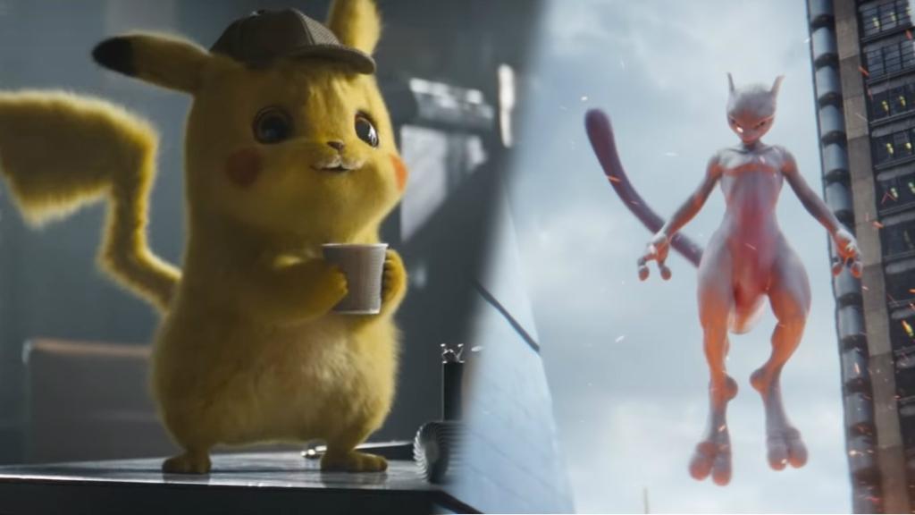 Afbeeldingsresultaat voor detective pikachu mewtwo